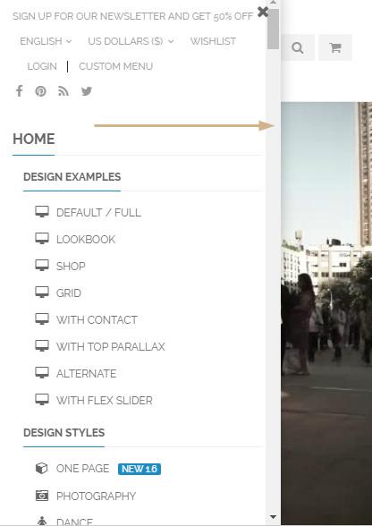 워드프레스 쇼핑몰 테마 슬라이딩 메뉴_2